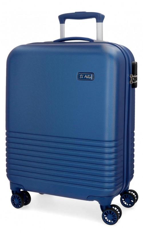 5749162 maleta cabina 4 ruedas el potro ride azul
