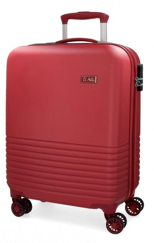 5749163 maleta cabina 4 ruedas el potro ride rojo