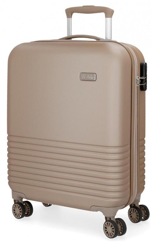 5749165 maleta de cabina 4 ruedas el potro ride champagne