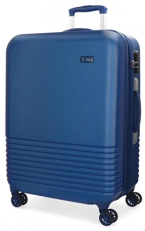 5749362 maleta grande 4 ruedas el potro ride azul