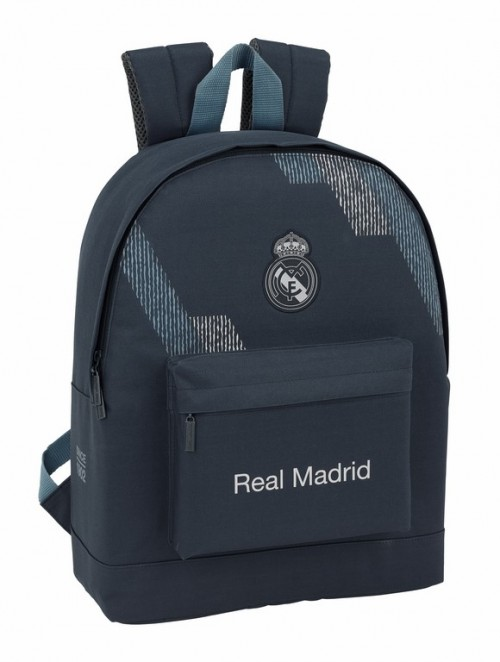 "611834174 Mochila para portátil 15.6"" Real Madrid dark grey"