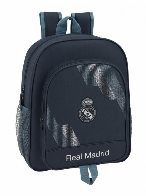 611834640 mochila junior adaptable real madrid dark grey