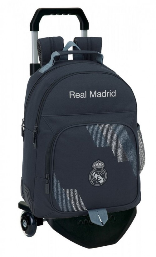 611834773CN mochila carro premium reforzada  real madrid dark grey