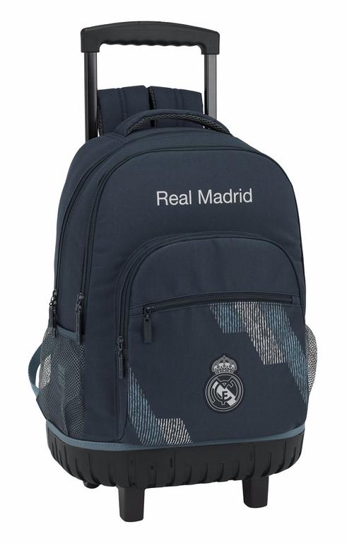 611834818 mochila compacta reforzada real madrid dark grey