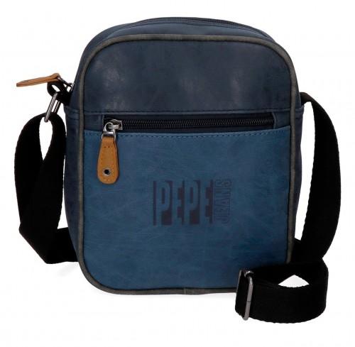 6355662 bandolera 21 cm pepe jeans max azul