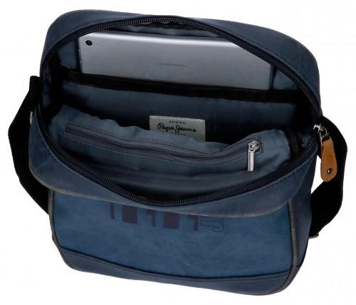6355762 bandolera pepe jeans 27 cm pepe jeans max azul interior portatablet
