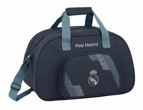 711834273 bolsa de deporte 40 cm real madrid dark grey