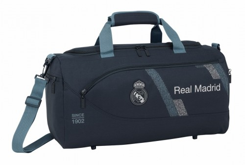 711834553 bolsa de deporte 50 cm real madrid dark grey