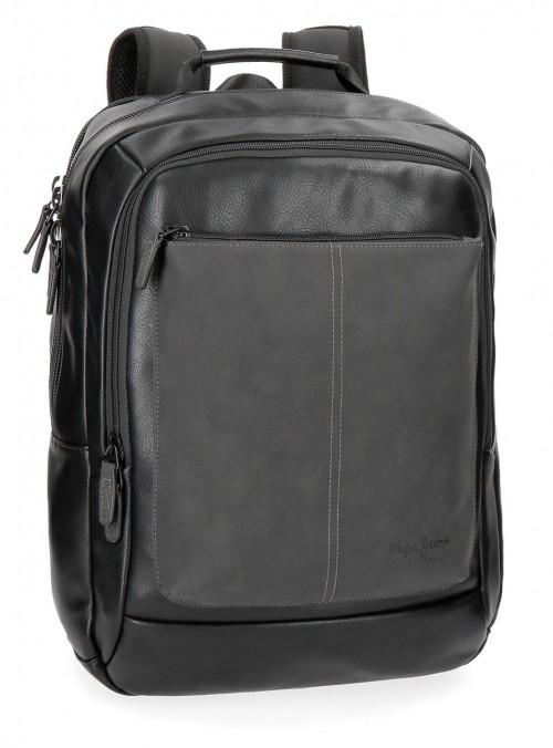 7382761 mochila doble c. portaordenador cranford negro