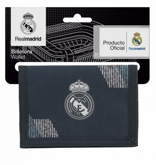 811834036 billetera real madrid dark grey