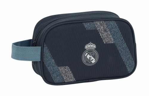 811834234 neceser con asa lateral real madrid dark grey