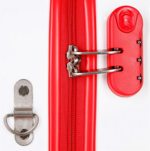 2391061 maleta infantil 41 cm 4 ruedas joy mickey cerradura de combinación
