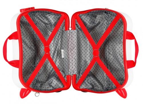 2391061 maleta infantil 41 cm 4 ruedas joy mickey interior