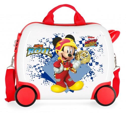 2391061 maleta infantil 41 cm 4 ruedas joy mickey