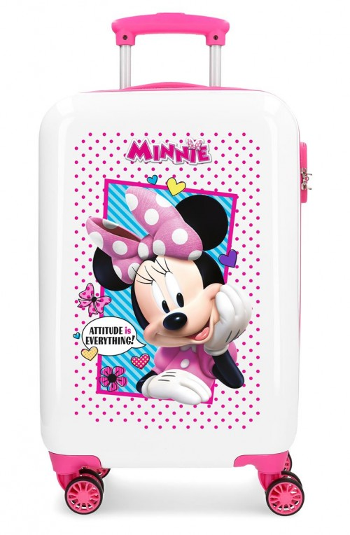 2391462 maleta cabina 4 ruedas joy minnie