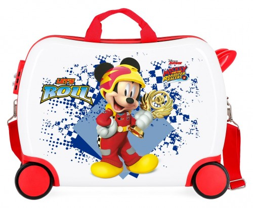 2399961 maleta infantil 50 cm 4 ruedas joy mickey