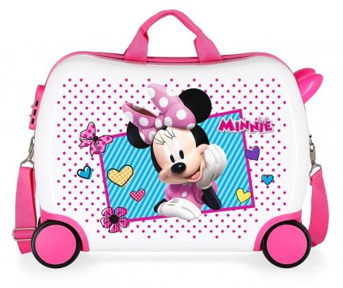 2399962 maleta infantil 50 cm 4 ruedas joy minnie