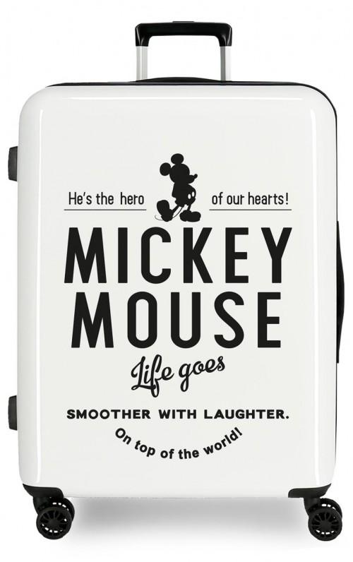 3669462 maleta mediana mickey mouse style