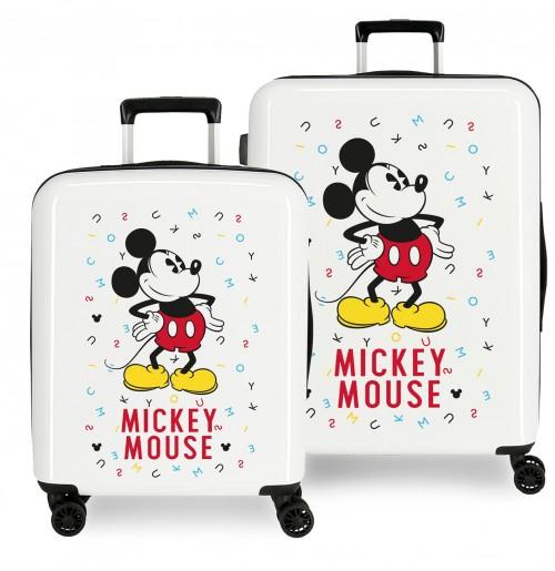 3669761 juego maleta cabina y mediana mickey style