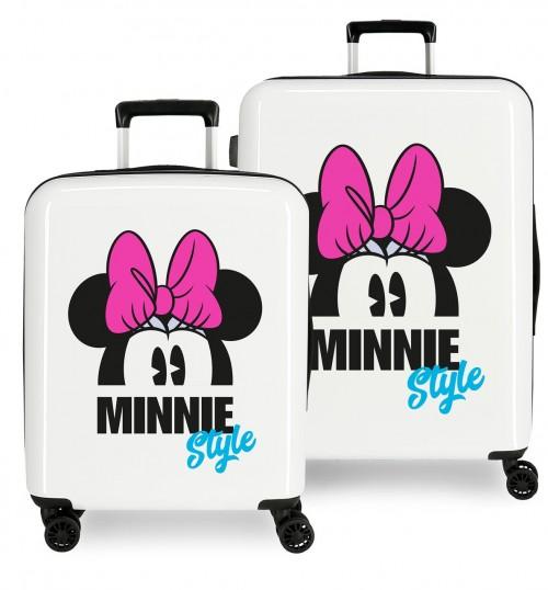 3669765 juego maletas cabina y mediana minnie style