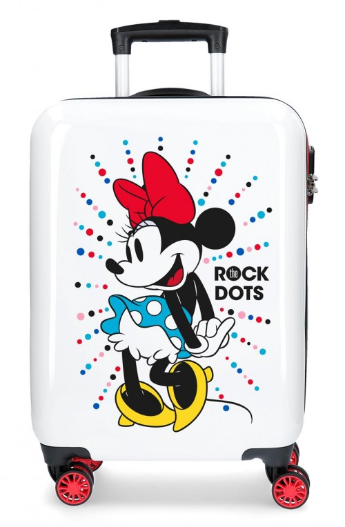 3671765 maleta cabina minnie rock dots magic
