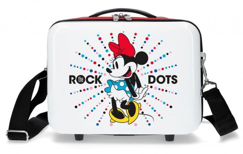 3673965 neceser abs minnie rock dots