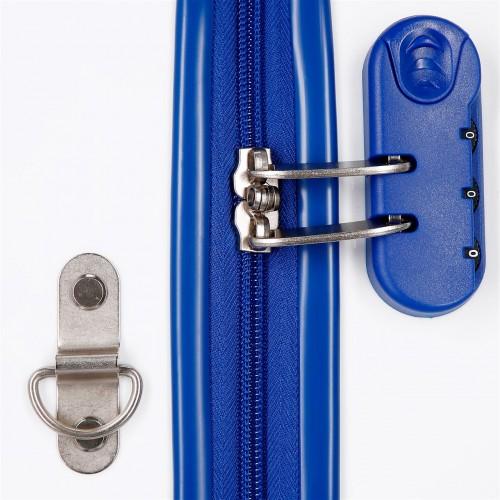 4641061 maleta infantil 41 cm 4 ruedas mickey good mood cerradura combinación