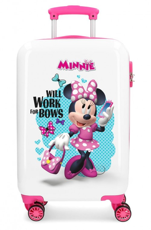 4641462 maleta de cabina 4 ruedas good mood minnie