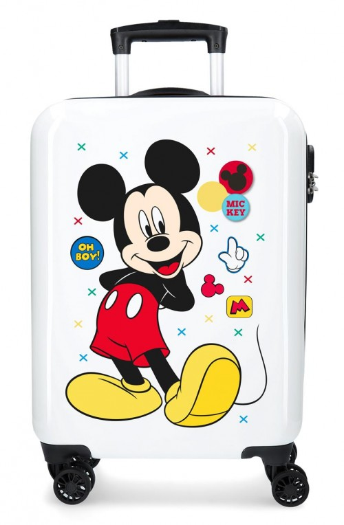 4681761 maleta de cabina mickey enjoy the day oh boy