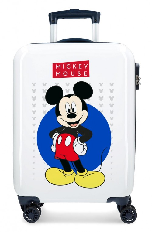 4681762 4681761 maleta de cabina mickey enjoy the day  blue