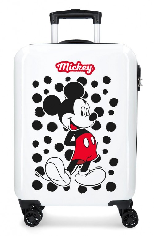 4681763 maleta de cabina mickey enjoy the day  dots