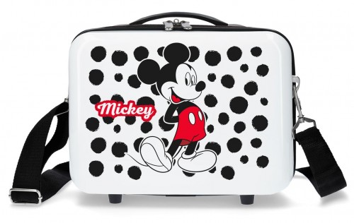 4683963 Neceser adaptable Mickey Enjoy the Day Dots