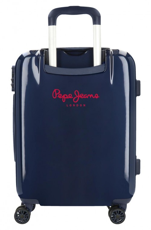 7681363 maleta cabina Pepe Jeans Luggage Quality marino trasera