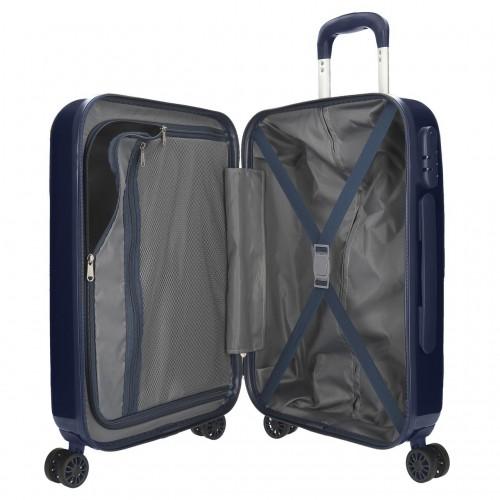7681363 maleta cabina Pepe Jeans Luggage Quality marino interior