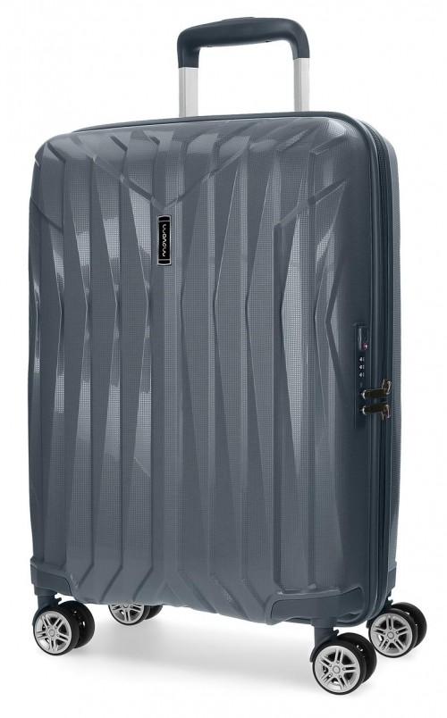 5889163 maleta cabina movom fuji gris en polipropileno