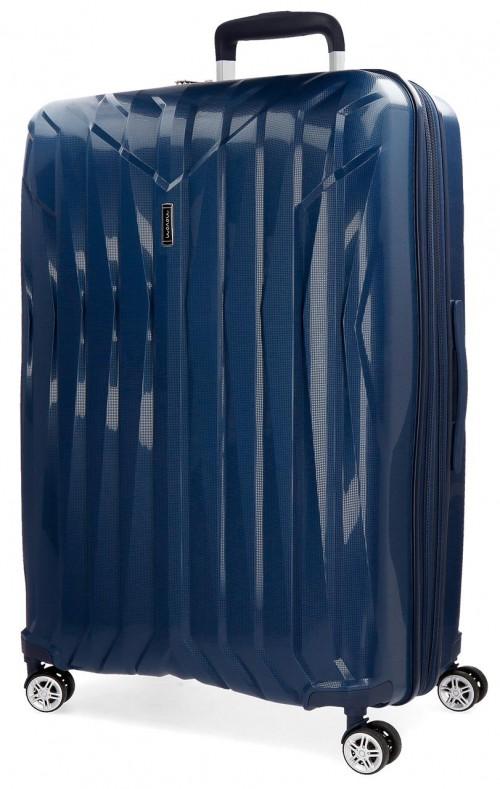 5889262 maleta mediana movom fuji azul marino en polipropileno