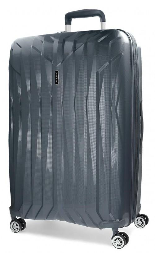 5889363 maleta grande movom fuji gris en polipropileno
