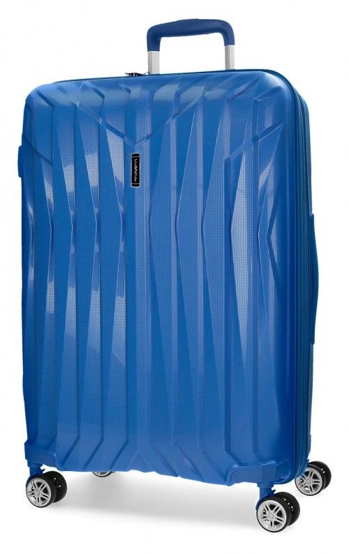 5889364 maleta grande movom azul polipropileno