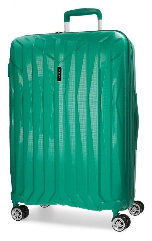 5889365 maleta grande movom fuji turquesa polipropileno