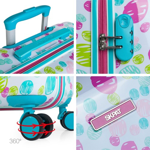130450 maleta de cabina skpa t lisboa detalles de la maleta