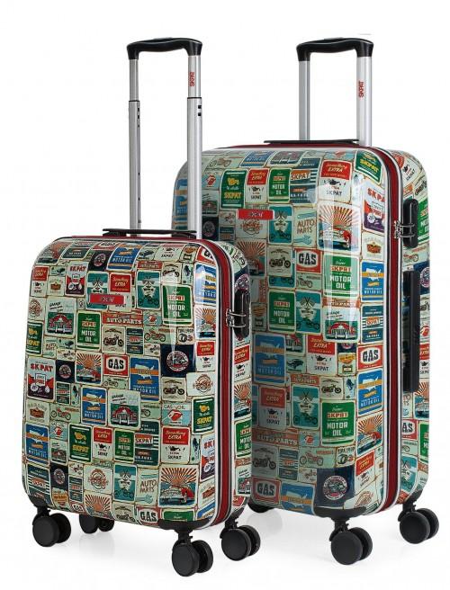 130500 juego maletas cabina + mediana skpa t kiev vista general