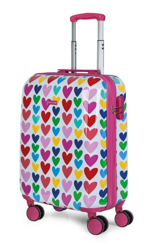 130650 maleta de cabina agatha ruiz de la prada corazones vista general
