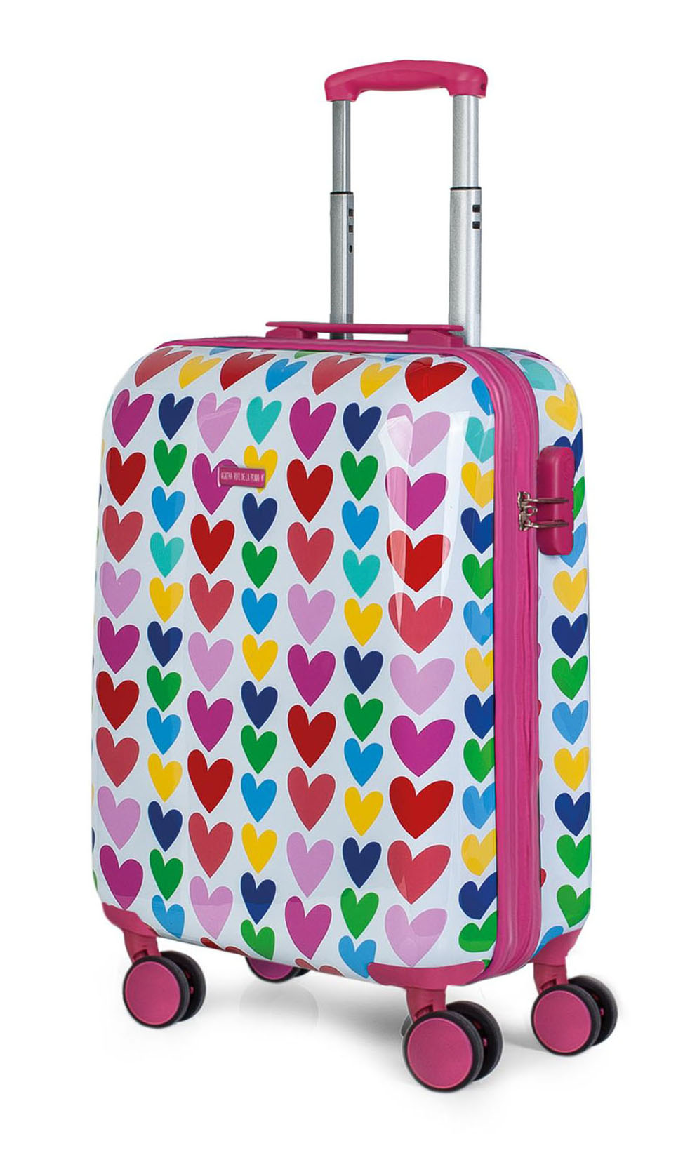 06885448d 130650 maleta de cabina agatha ruiz de la prada corazones vista general