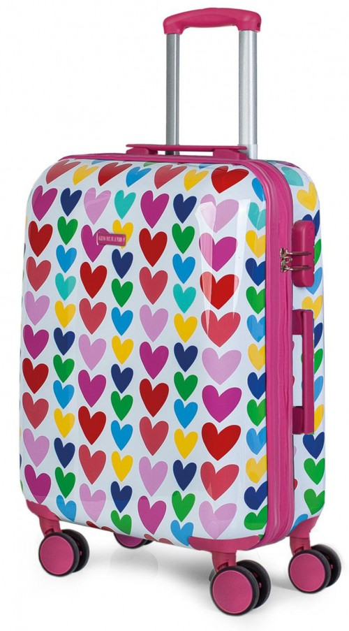 130660 maleta mediana agatha ruiz de la prada corazones vista general