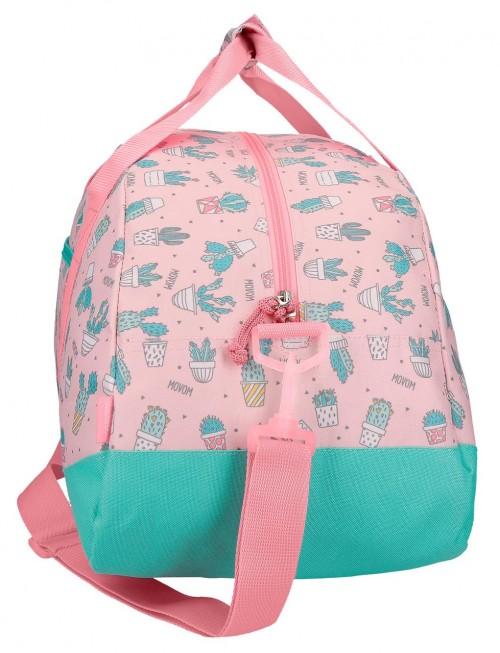 3433561 bolsa de viaje movom cactus rosa lateral