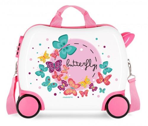3721061 maleta infantil 41 cm correpasillos movom butterfly