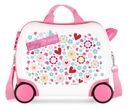 3721064 maleta infantil 41 cm  movom  enjoy & smile