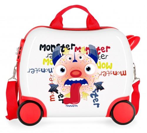 3721065 maleta infantil 41 cm  movom  monster