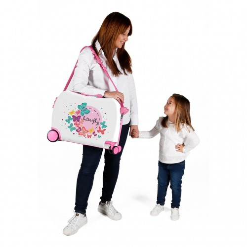 3729861 maleta infantil 4 ruedas movom butterfly  detalle