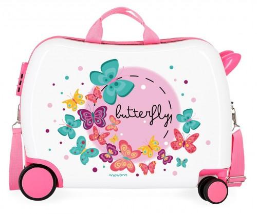 3729861 maleta infantil 4 ruedas movom butterfly